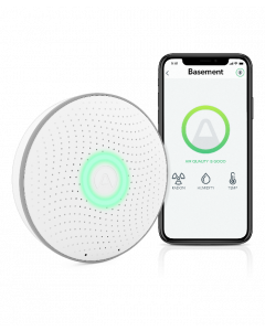 Airthings Wave (2nd Gen) - Smart Radon Monitor
