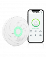 Airthings Wave Plus - Smart Indoor Air Quality and Radon Monitor